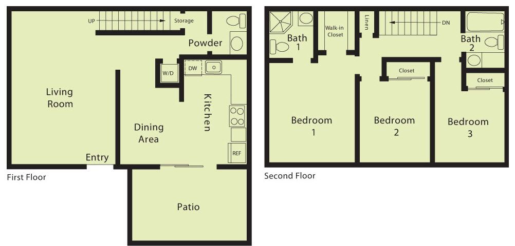 Multi Family for Sale at The Willows - Plan F 700 Fargo Ave. San Leandro, California 94579 United States