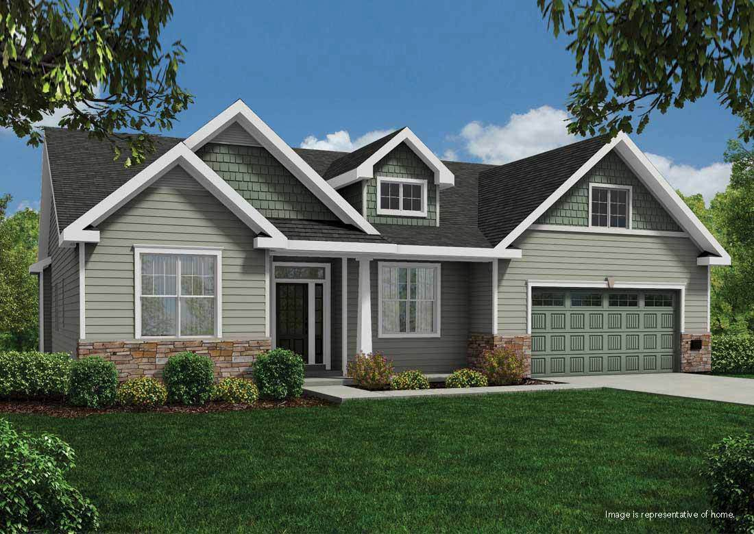 Single Family for Sale at Silver Spring Estates - The Conrad Ss N60w21555 Legacy Trail Menomonee Falls, Wisconsin 53051 United States