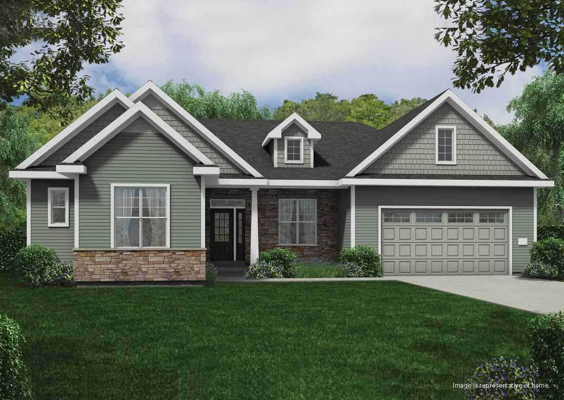 Single Family for Sale at The Benedict Ss W212n6082 Legacy Trail Menomonee Falls, Wisconsin 53051 United States