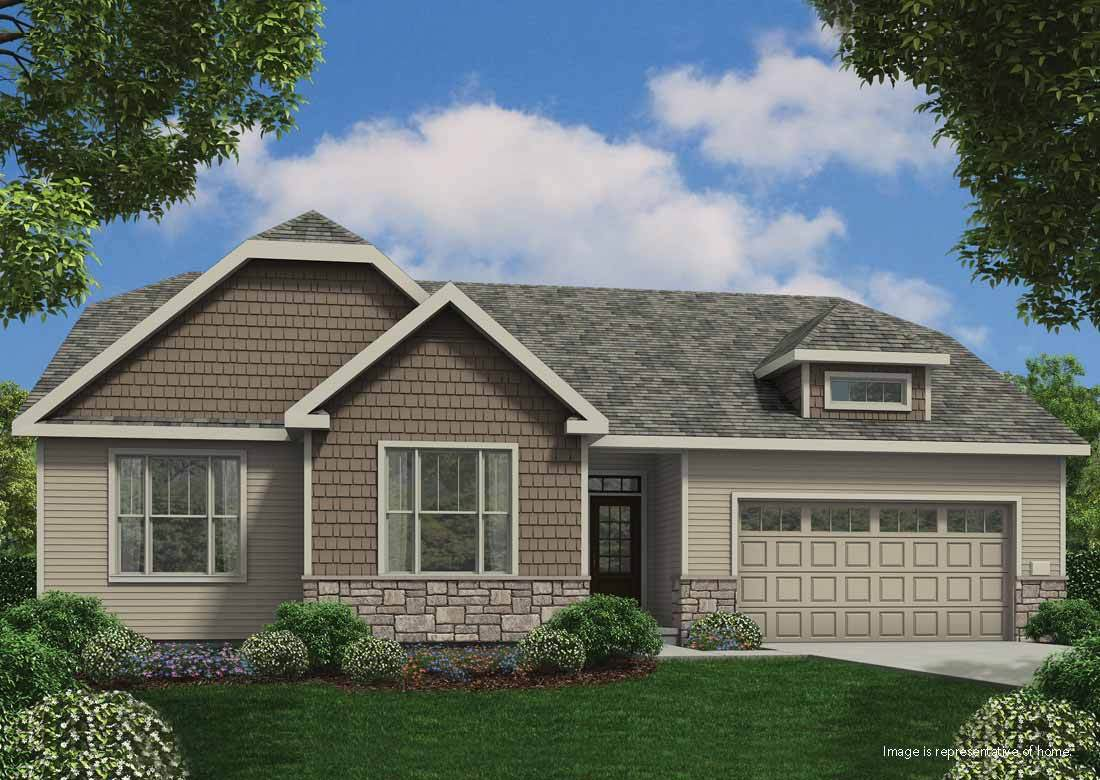 Single Family for Sale at Silver Spring Estates - The Hendrix Ss N60w21555 Legacy Trail Menomonee Falls, Wisconsin 53051 United States