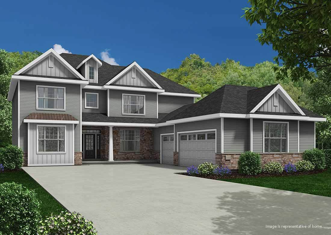 Single Family for Active at The Enclave At Mequon Preserve - The Becket Ss 10805 N Firefly Drive Mequon, Wisconsin 53097 United States
