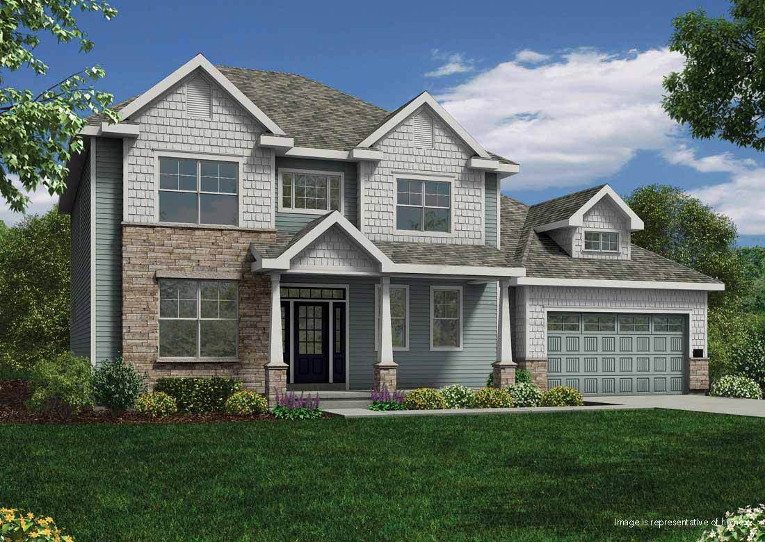 Single Family for Active at The Enclave At Mequon Preserve - The Maybeck Ss 10805 N Firefly Drive Mequon, Wisconsin 53097 United States