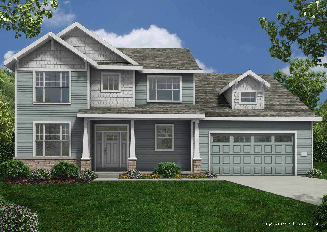 Single Family for Active at The Enclave At Mequon Preserve - The Randall Ss 10805 N Firefly Drive Mequon, Wisconsin 53097 United States