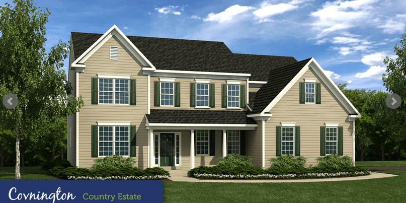 w b homes inc vistas at highland ridge the cheshire collection 1178937 telford pa new