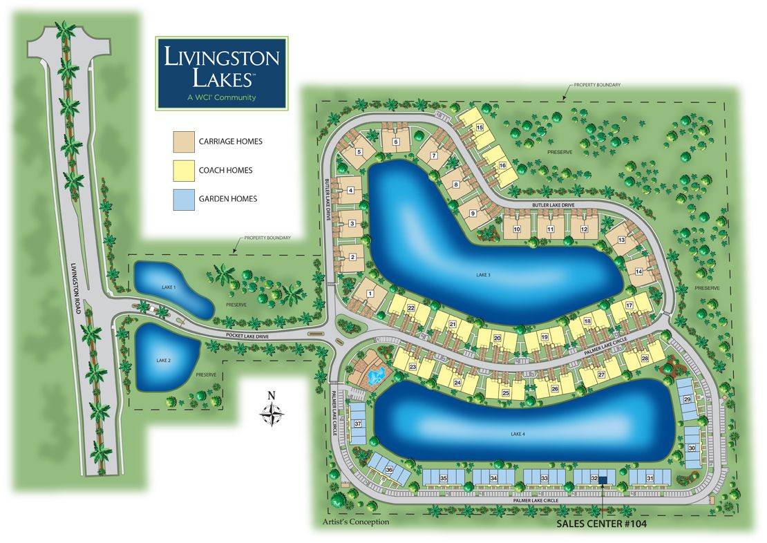 Photo of Livingston Lakes in Naples, FL 34109
