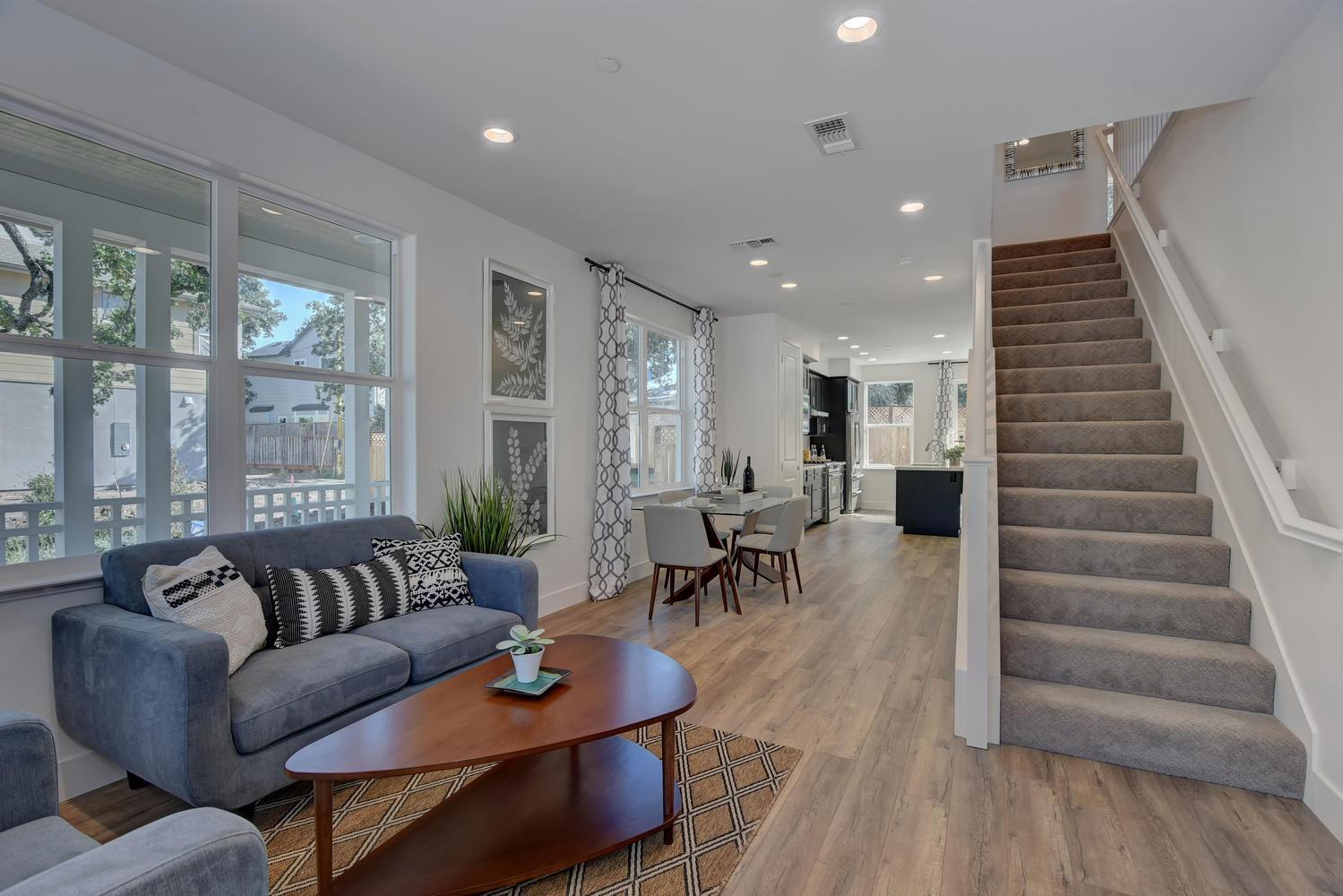Single Family for Sale at Rincon Place - Residence A 949 Prospect Avenue Santa Rosa, California 95409 United States