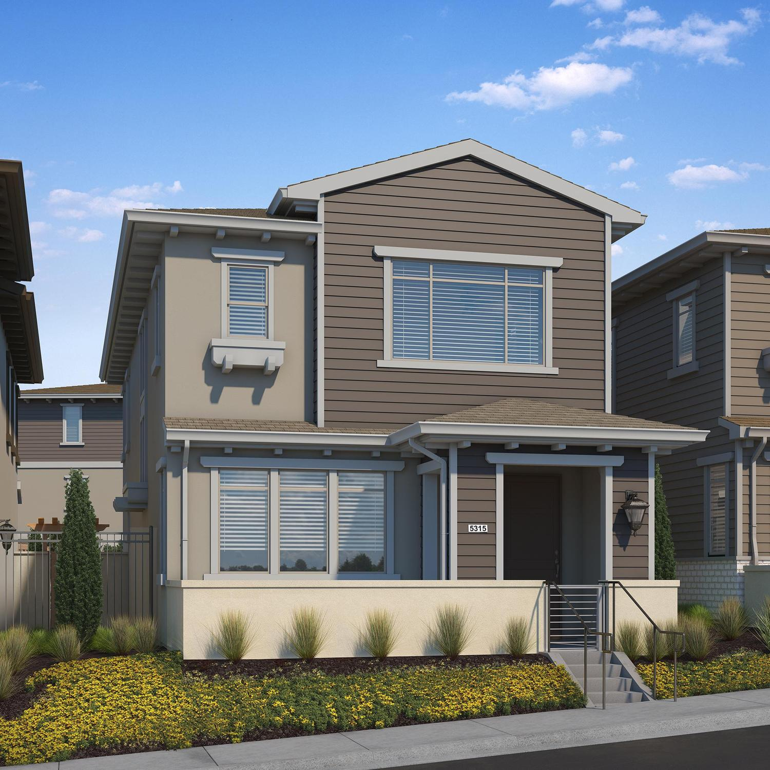 Single Family for Active at Hadley Trails - Plan 1 5303 Davidson Drive Whittier, California 90601 United States