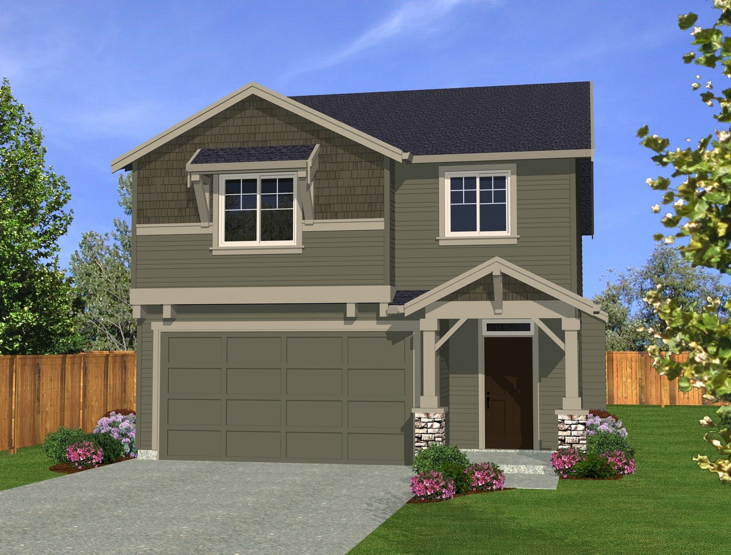 Waverly Homes, Hidden Glen, Canterbury-1163475, Vancouver, WA - New ...
