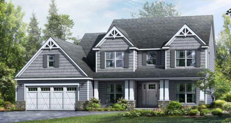 Wayne Homes Akron Medina Build On Your Lot Meridian