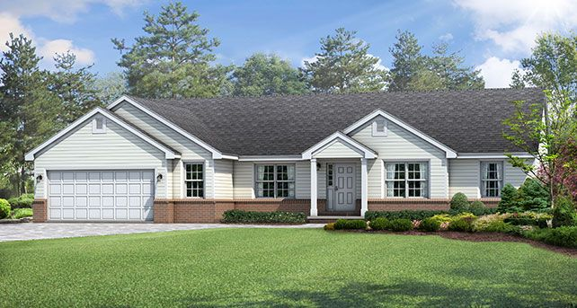 Wayne Homes Ashland Build On Your Lot New Homes In