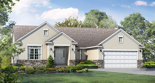 Single Family for Sale at Wayne Homes Akron Medina Build On Your Lot - Franklin 3859 Eastern Road Norton, Ohio 44203 United States