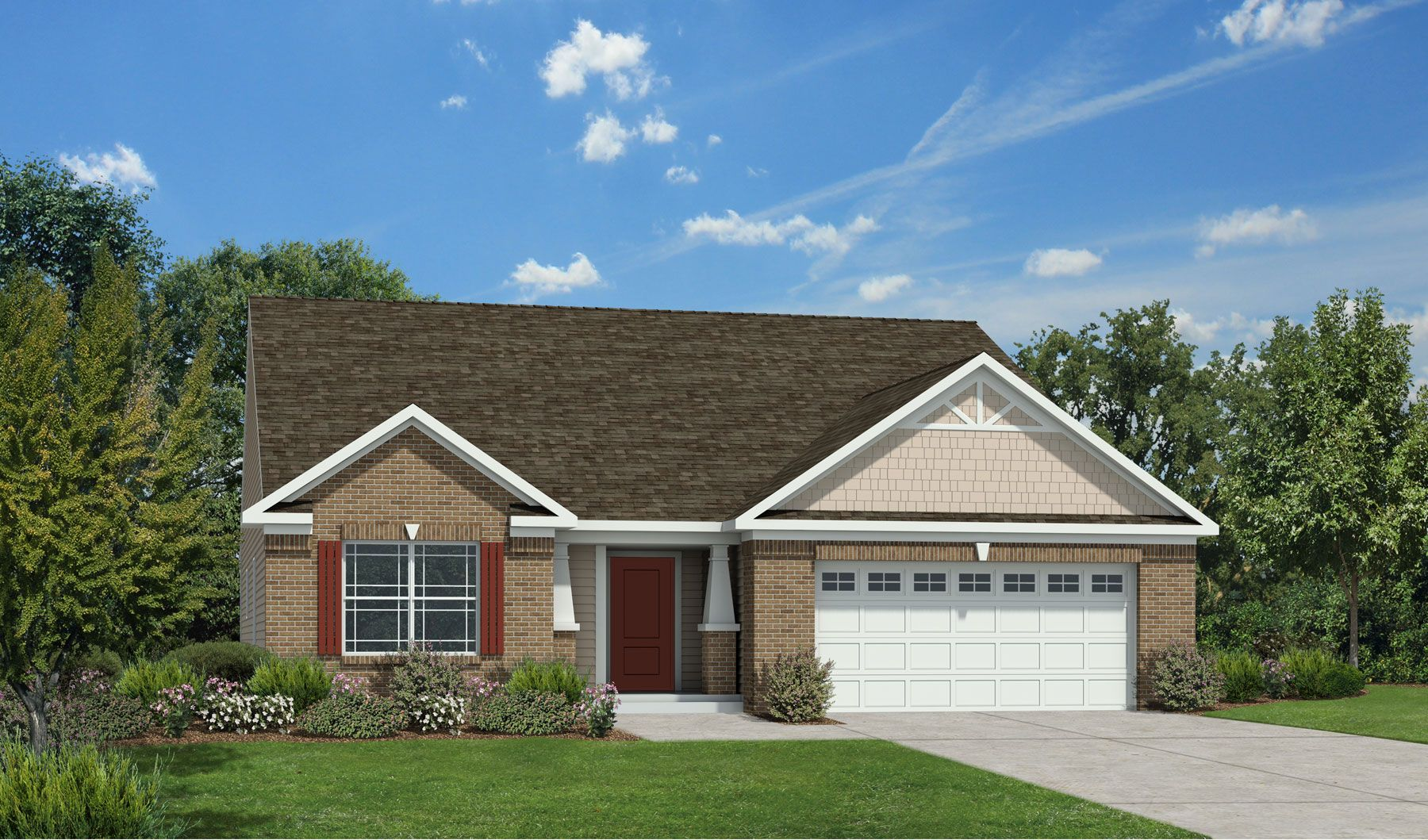 Westport homes of indianapolis woods at traders point for Westport homes ranch floor plans