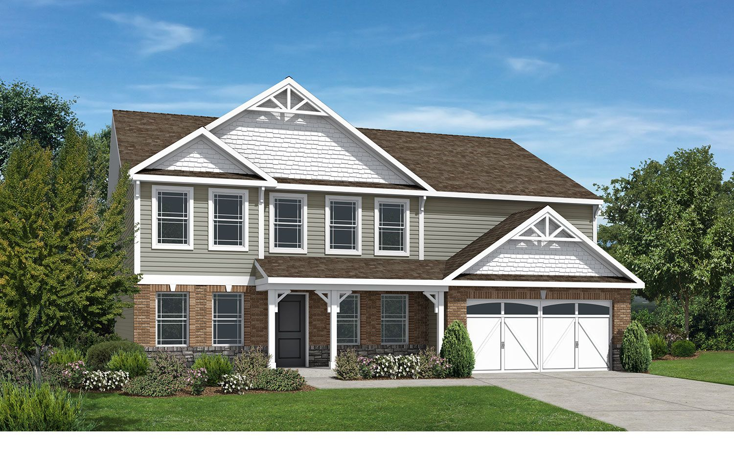 Westport homes of indianapolis stone crossing denali for Houses for sale westport
