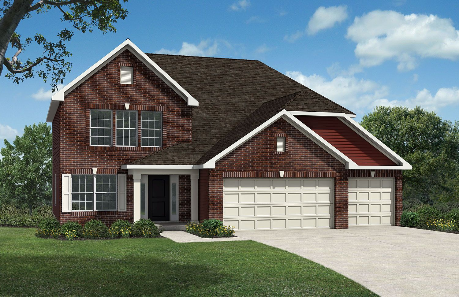 Westport homes of indianapolis stone crossing mckinley for Houses for sale westport