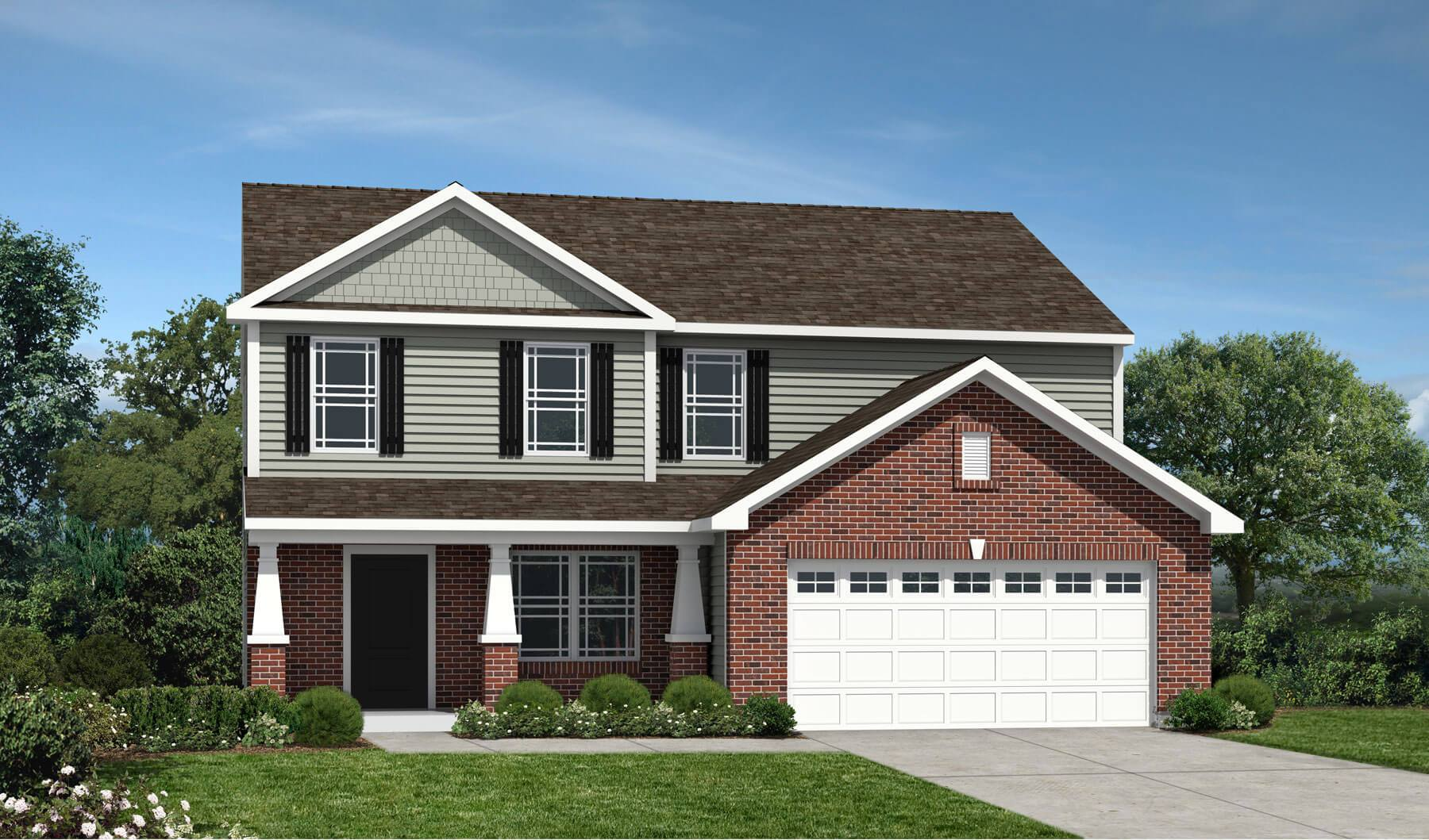 Westport homes of indianapolis sawmill monterey 1351496 for Houses for sale westport