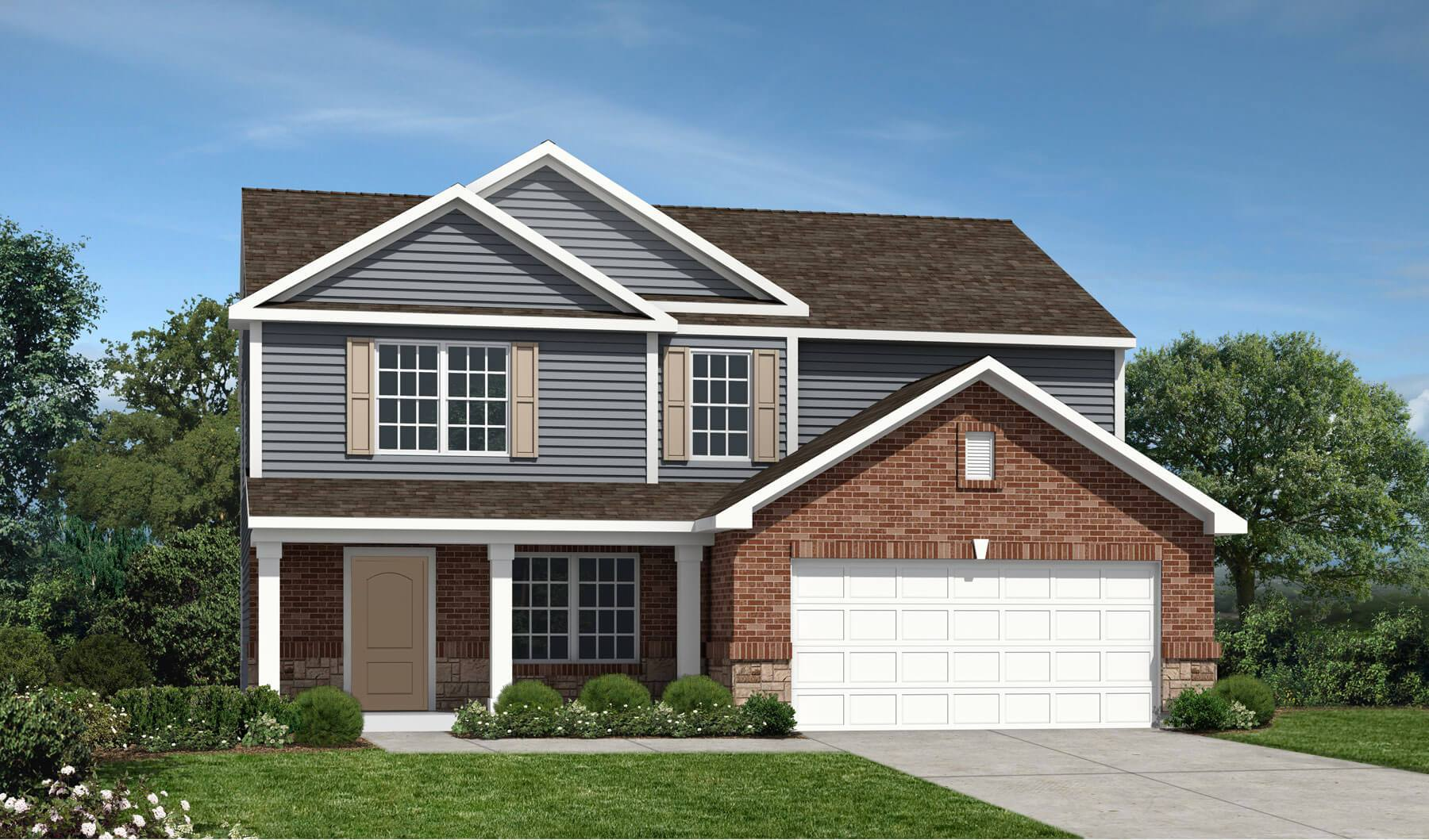 Westport Homes Of Indianapolis Sawmill Monterey 1351496 Greenfield In New Home For Sale
