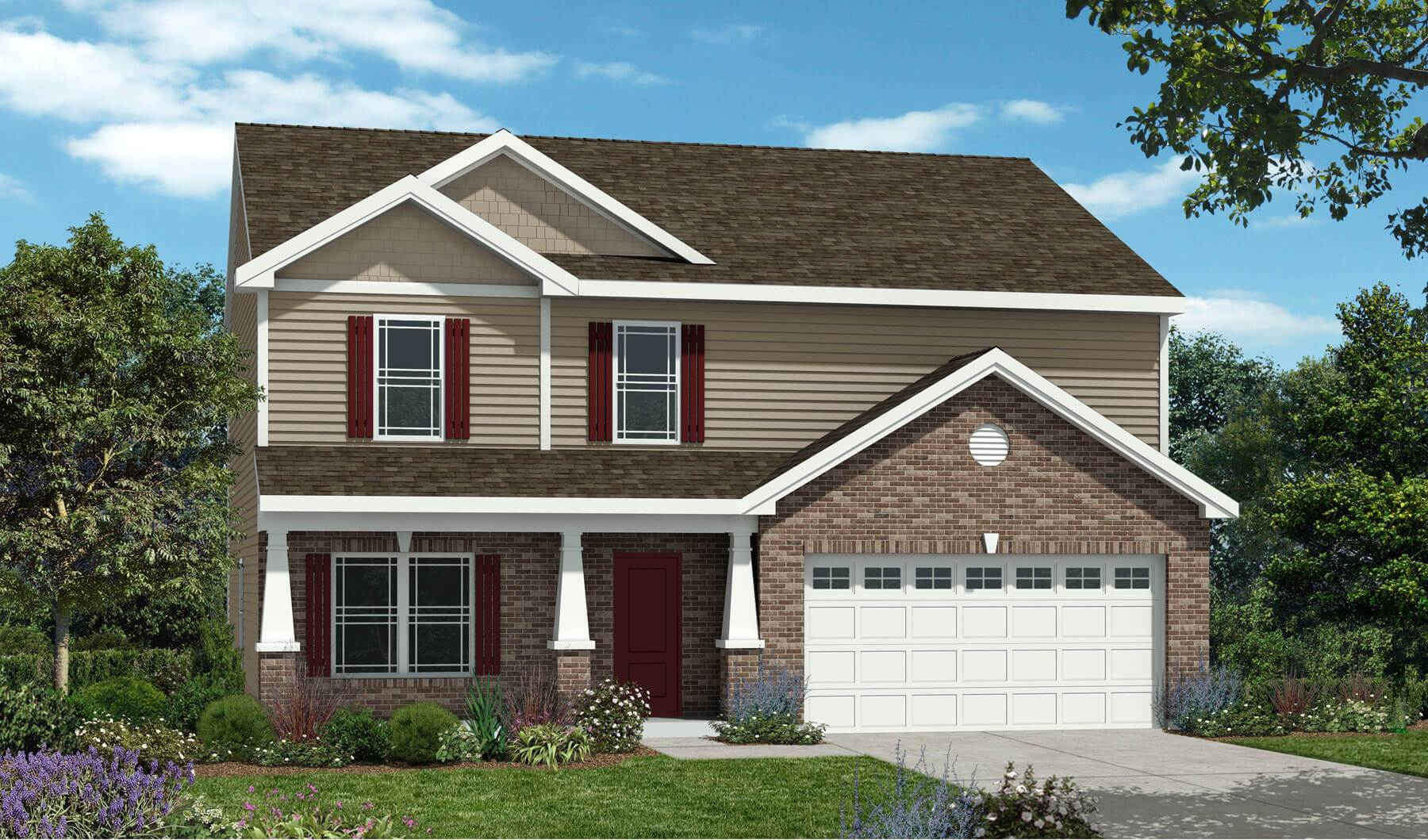 Westport homes of indianapolis sawmill montgomery for Houses for sale westport