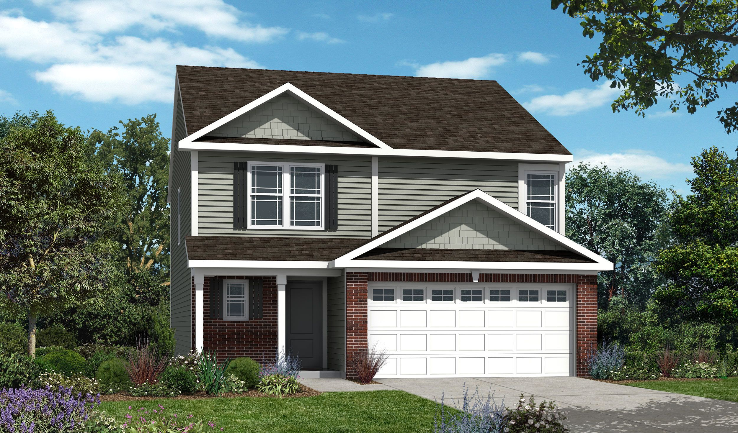 Westport homes of indianapolis sawmill waverly 1359318 for Houses for sale westport
