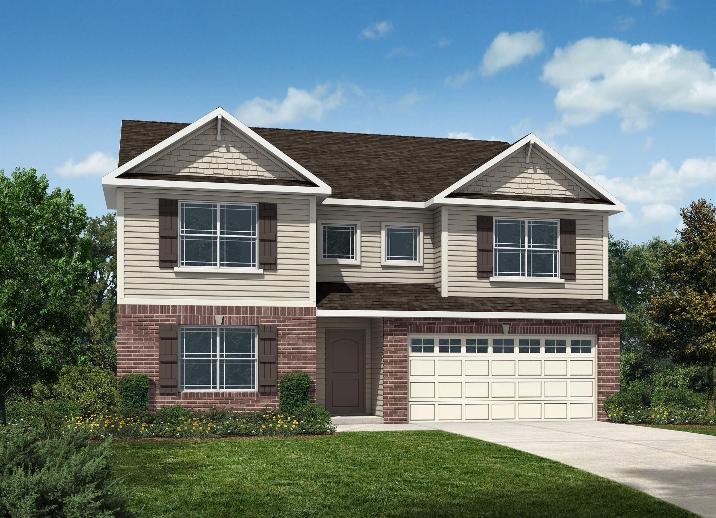 Westport homes of indianapolis stone crossing newport for Houses for sale westport