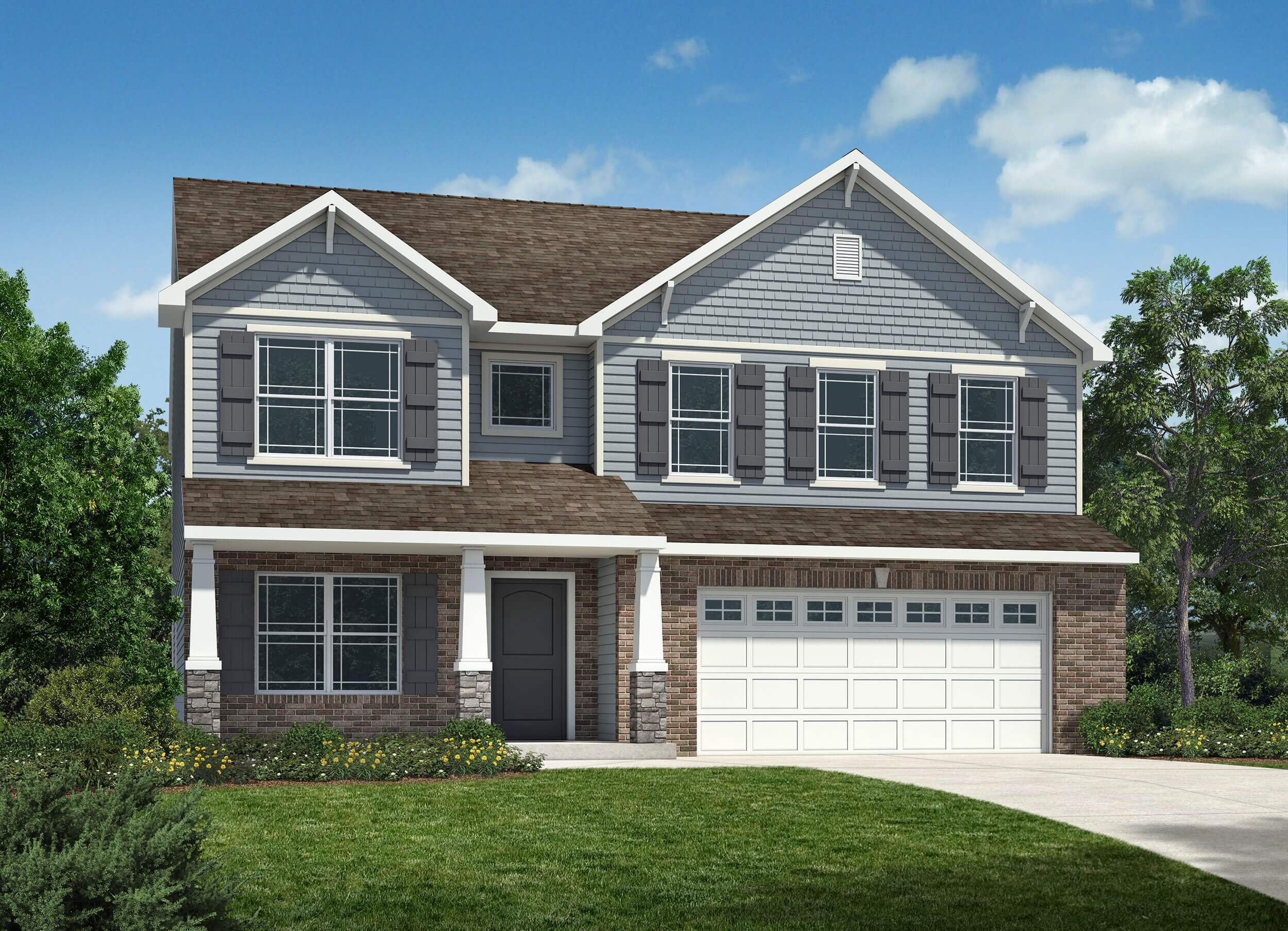 Westport homes of indianapolis westwood landing west for Houses for sale westport