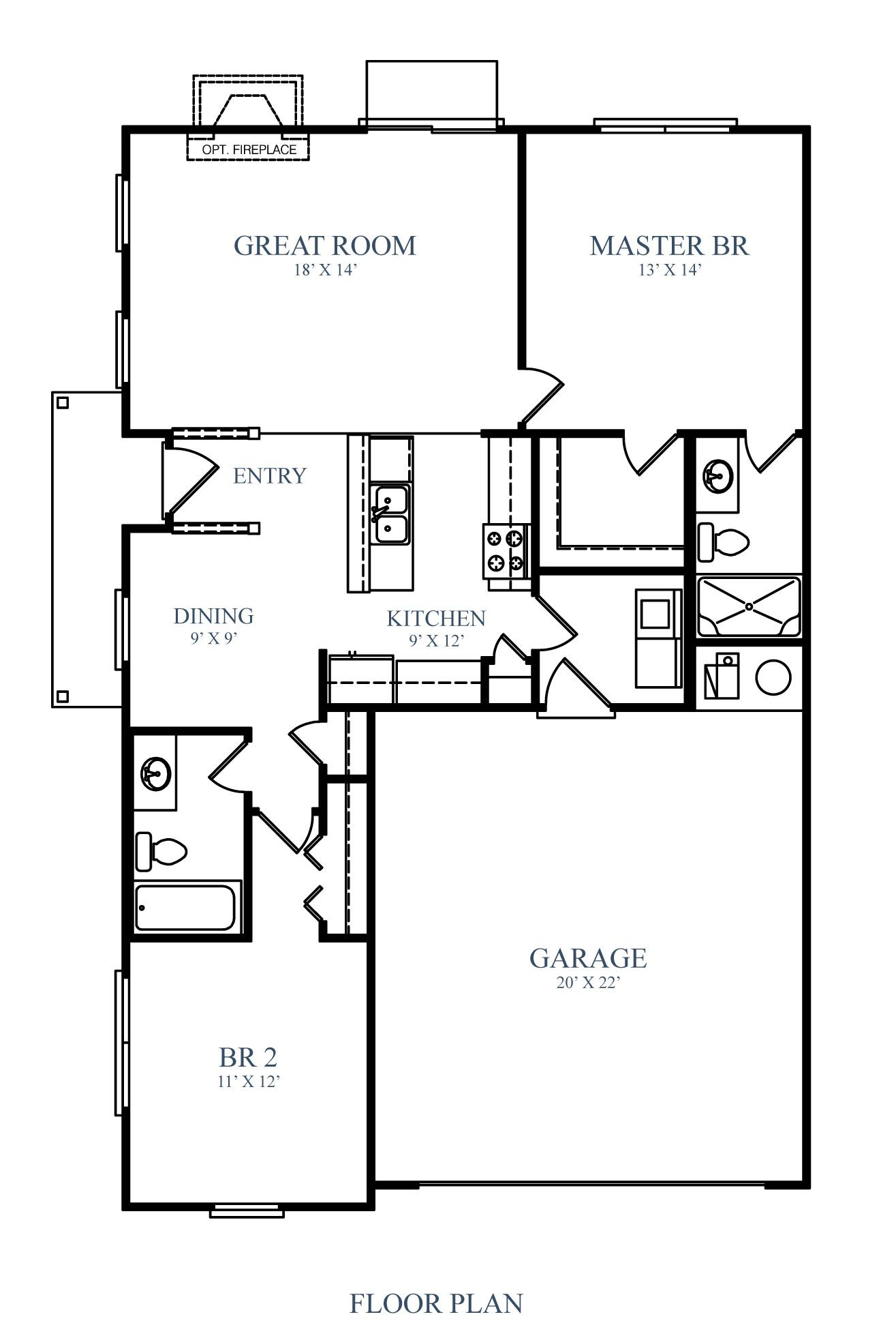 Westport homes of indianapolis prairie lakes tallgrass for Indianapolis home builders floor plans