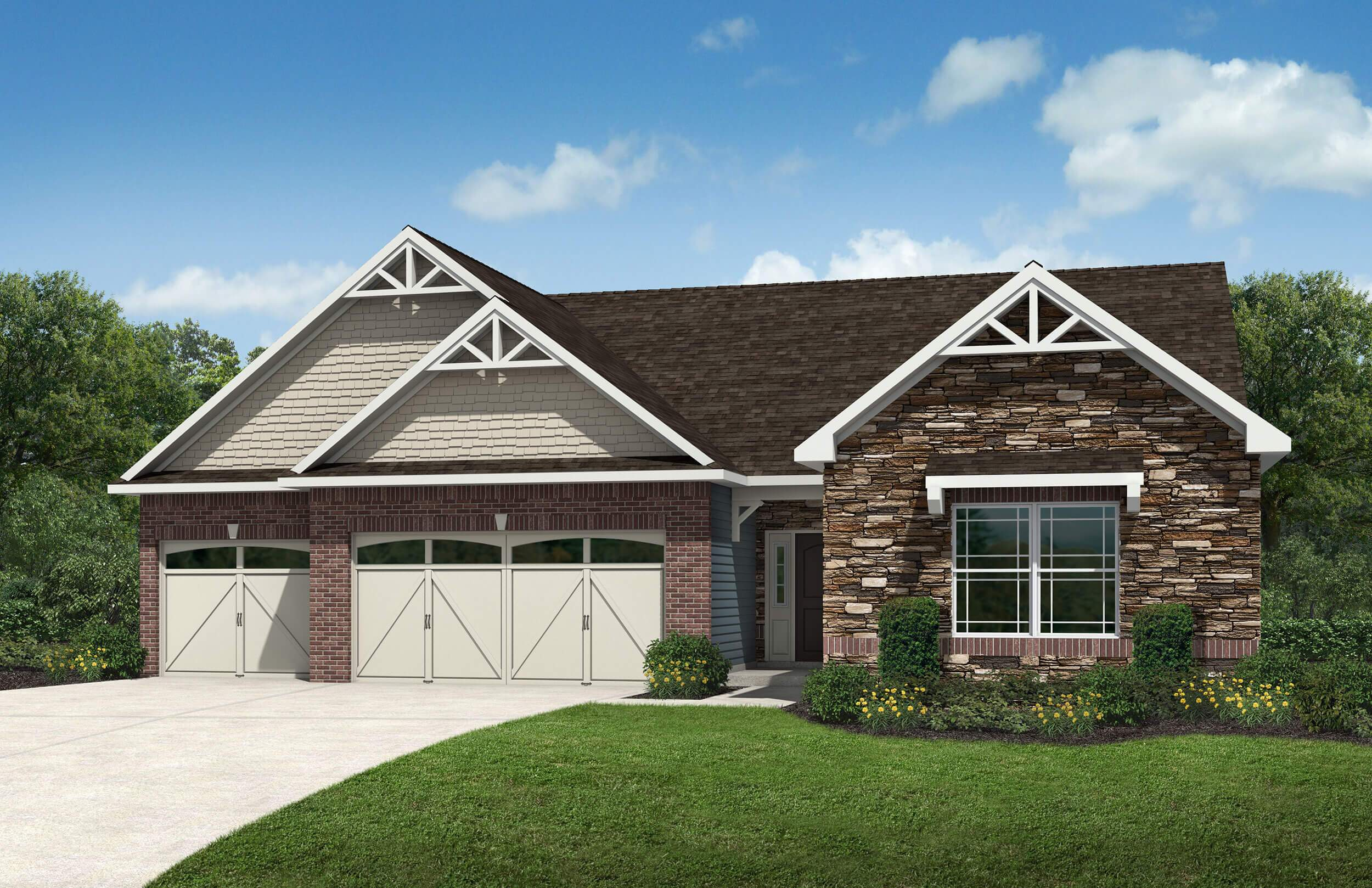 Westport homes of indianapolis woods at traders point for Oakmont home builders