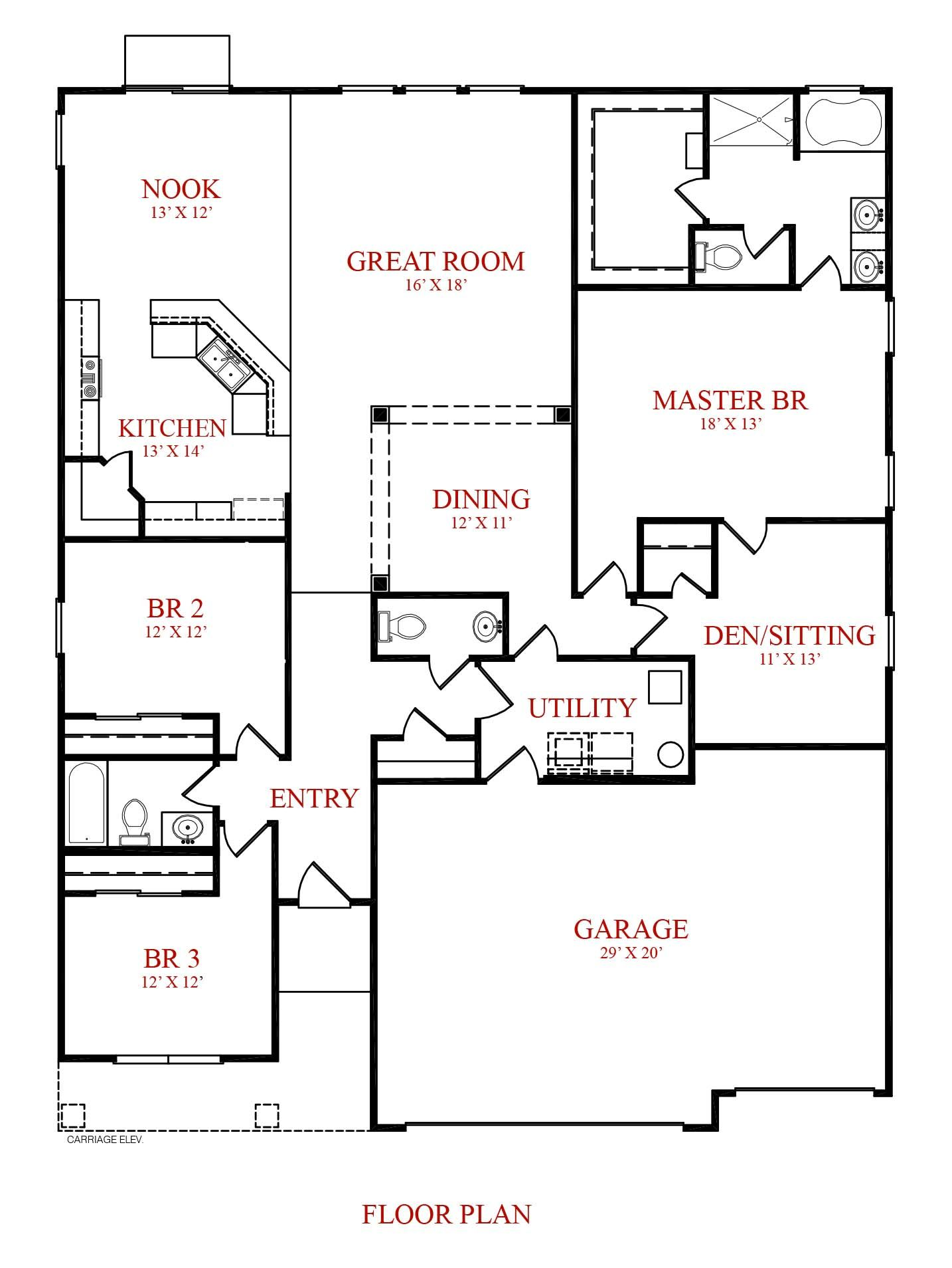 Westport homes of indianapolis stone crossing grandover for Westport homes ranch floor plans