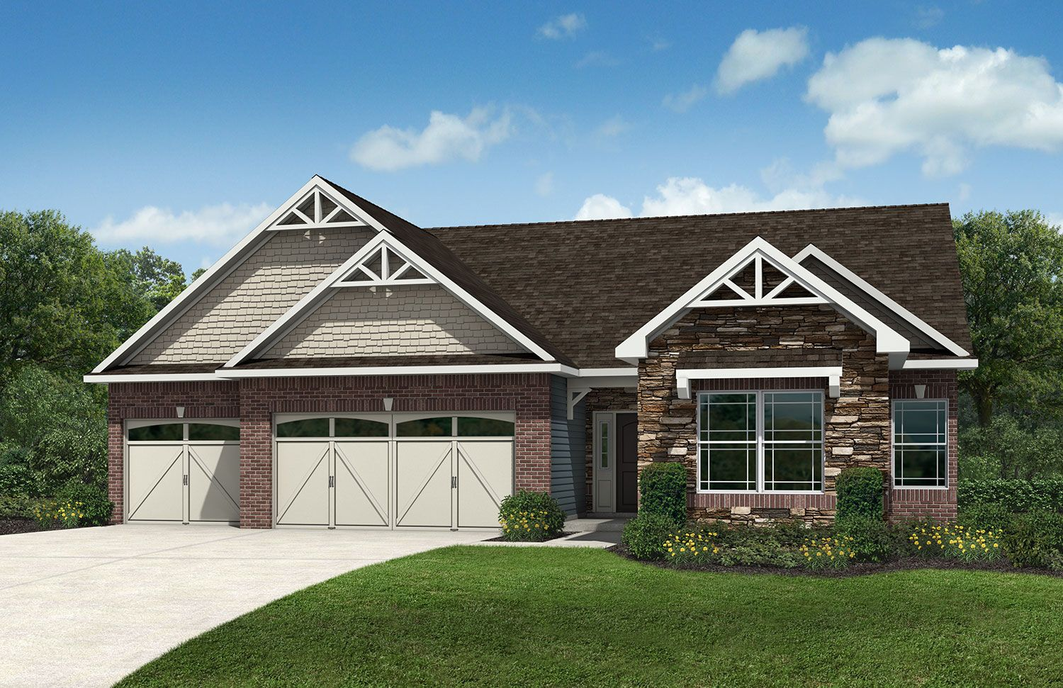 Westport homes of indianapolis woods at traders point House builders in indiana