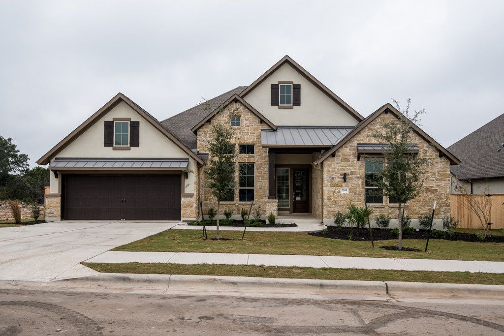 Leander new homes topix Crystal falls builders