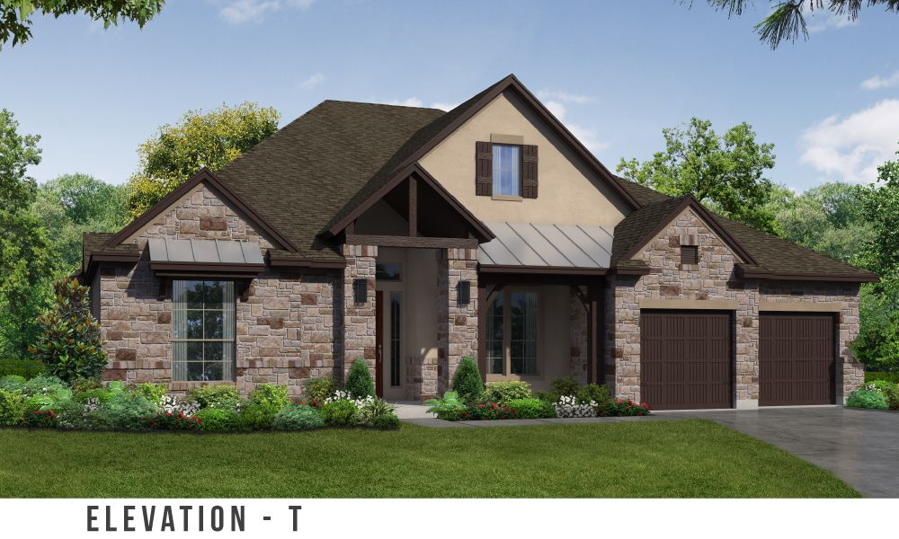 Crystal falls new homes in leander tx by trendmaker homes Crystal falls builders