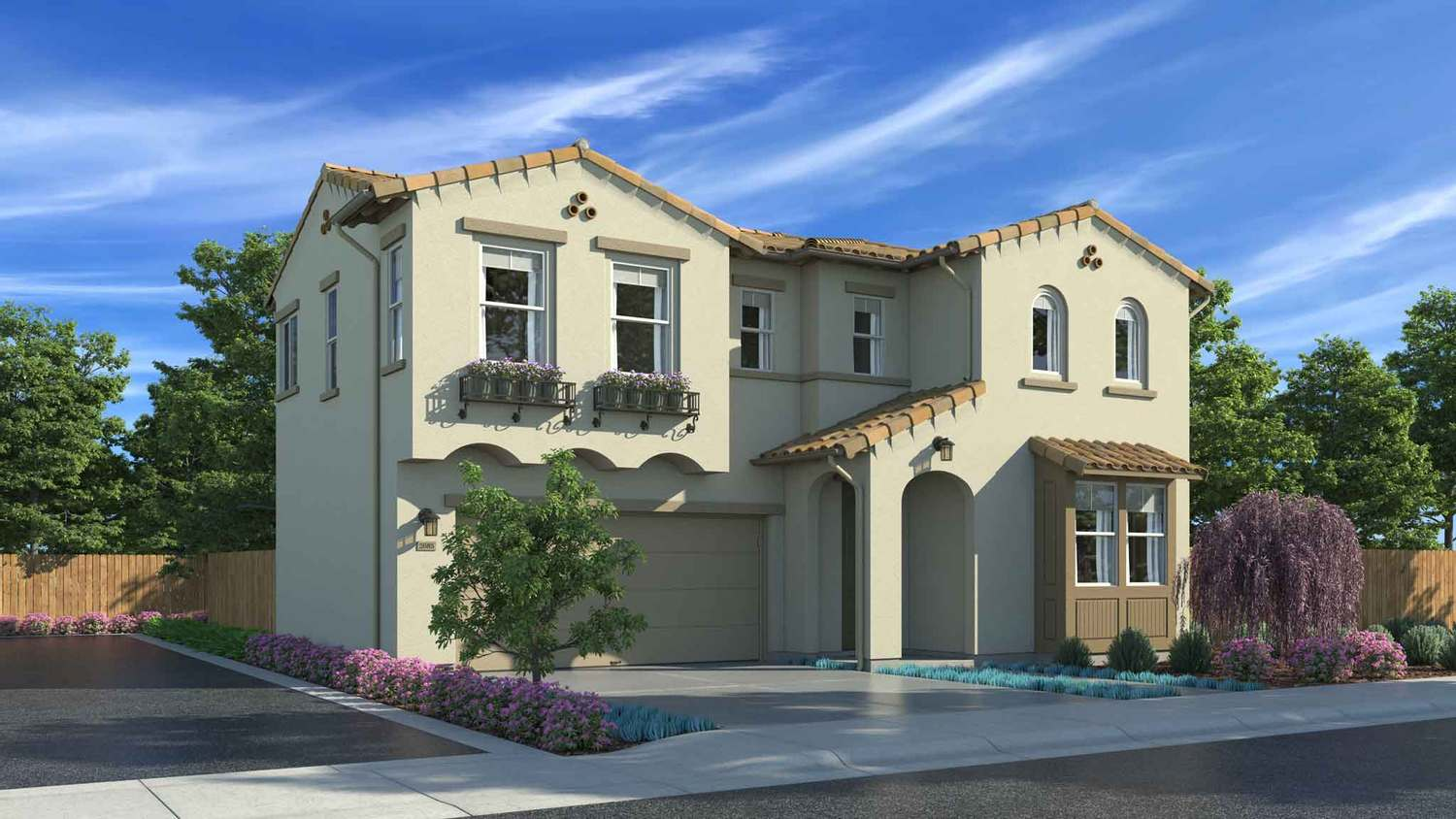 Single Family for Sale at The Gardens - Residence 6 1850 S. Biscayne St. Santa Maria, California 93458 United States