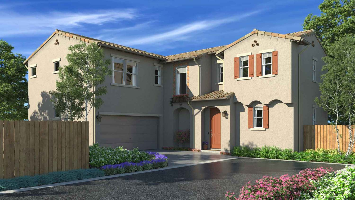 Single Family for Sale at The Gardens - Residence 7 1850 S. Biscayne St. Santa Maria, California 93458 United States
