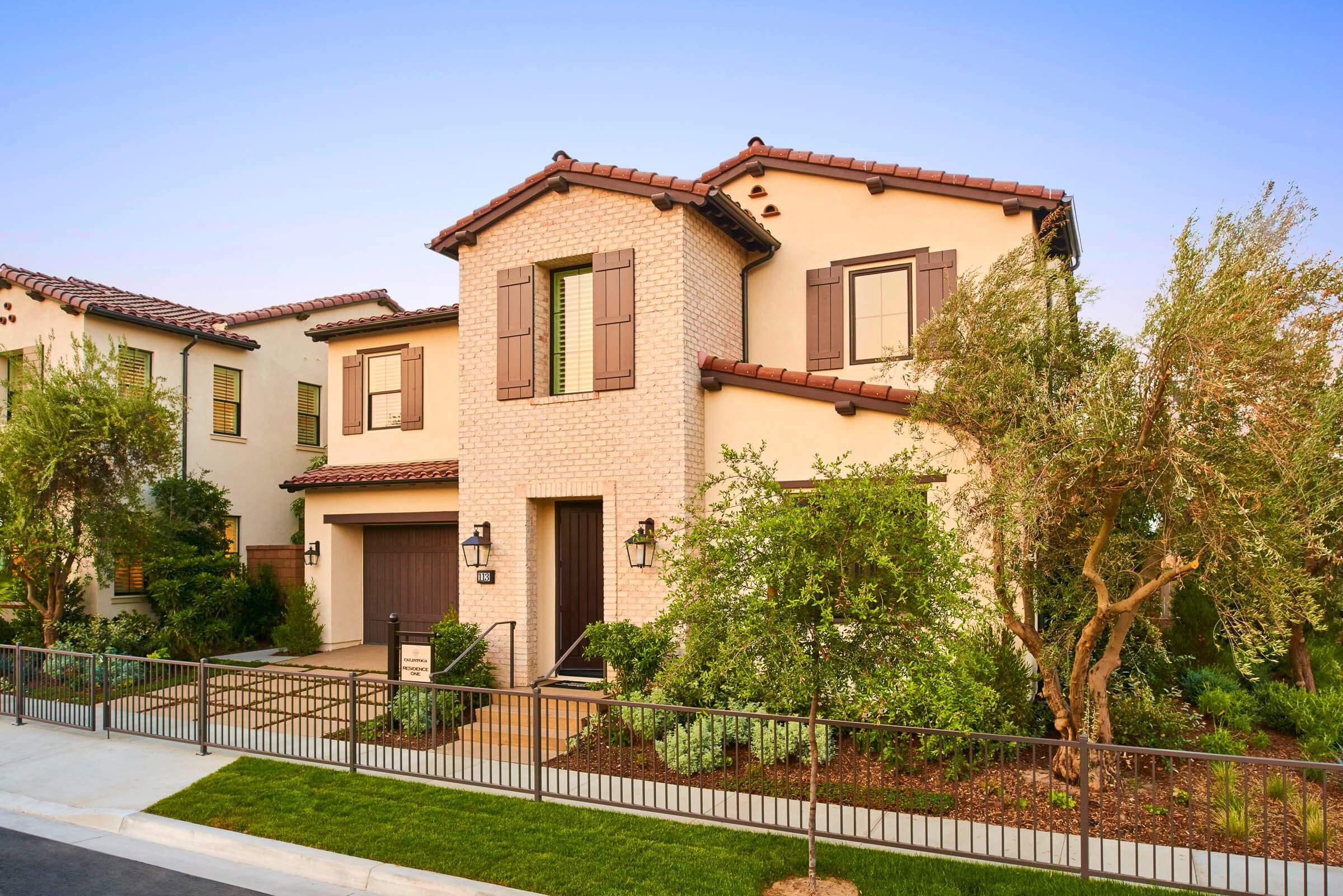'Single Family' building or community at 'Calistoga at Eastwood Village Irvine, California 92620 United States'