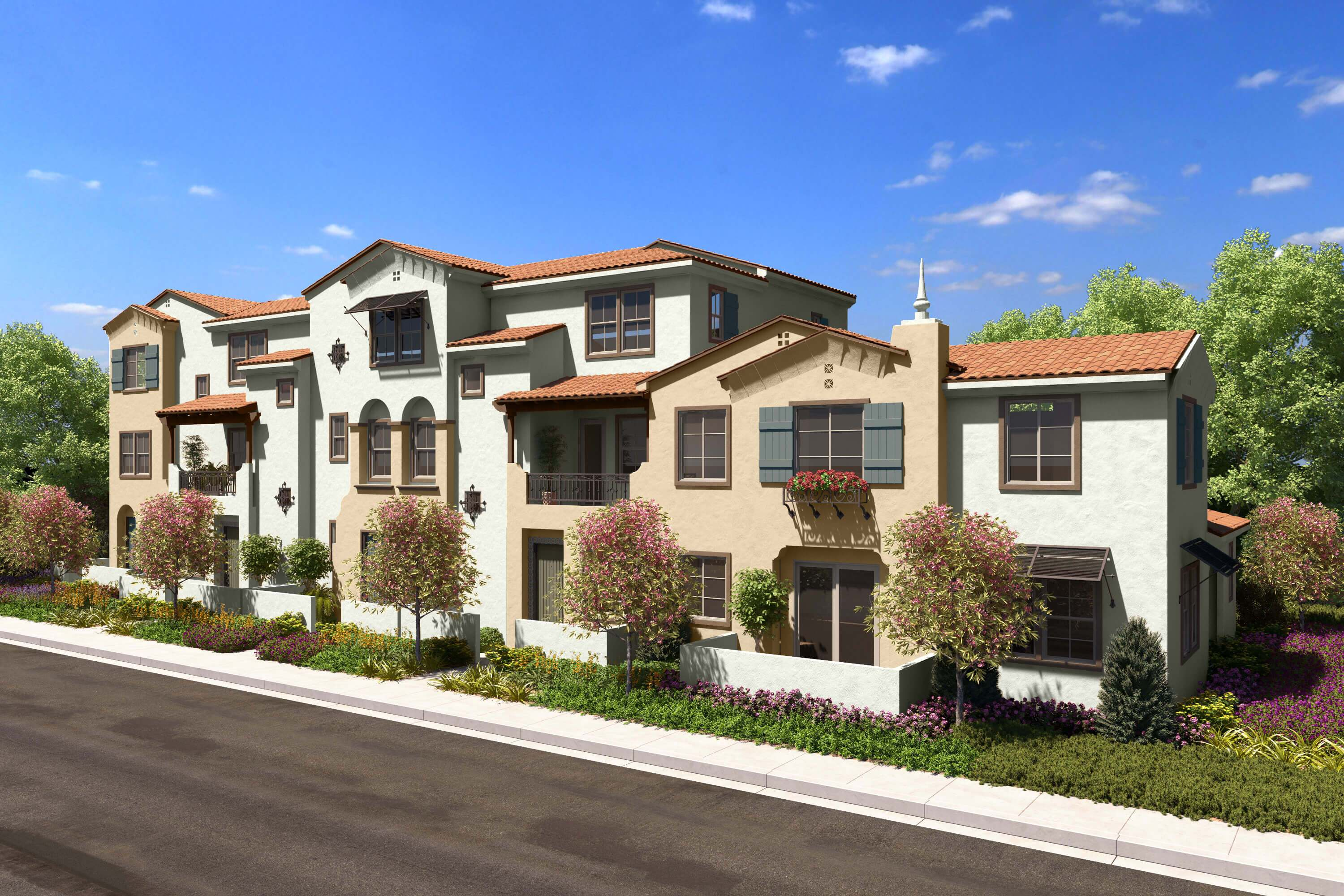 Multi Family for Sale at Citrus Pointe At The Orchards - Residence 3x 192 Sultana Avenue Upland, California 91786 United States