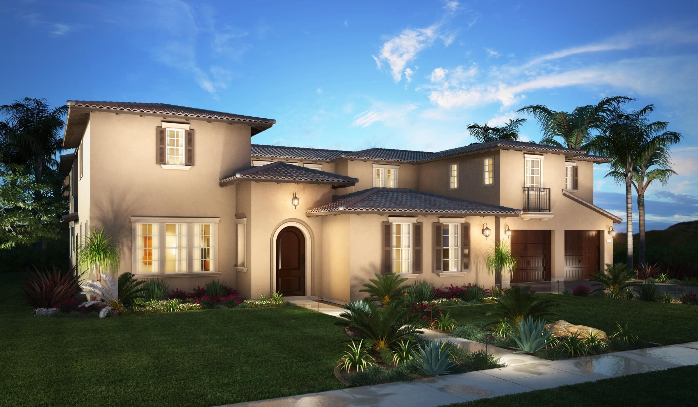 Single Family for Sale at La Colina Estates - Residence 5 1203 Iris Lane Glendora, California 91741 United States