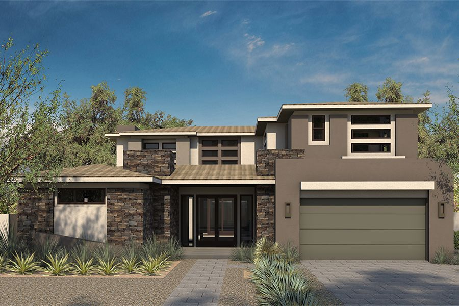 Single Family for Sale at Sterling Ridge - Plan 2 - The Grand Collection 35 Coralwood Dr. Las Vegas, Nevada 89135 United States