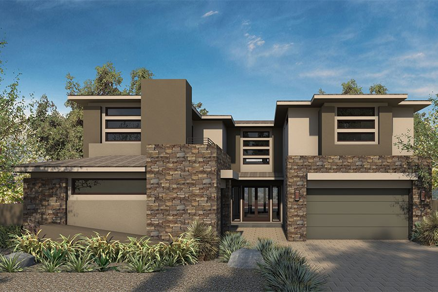 Single Family for Sale at Sterling Ridge - Plan 3 - The Grand Collection 35 Coralwood Dr. Las Vegas, Nevada 89135 United States