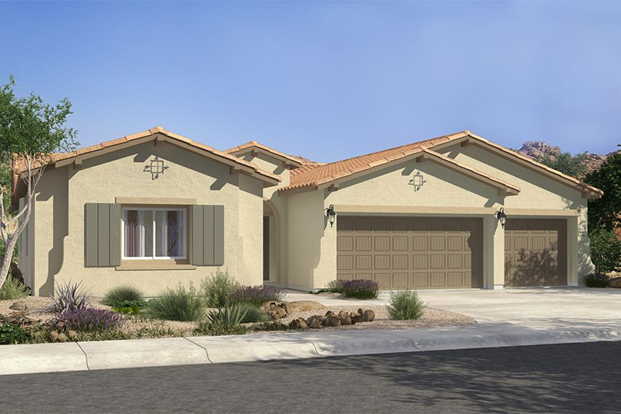 Single Family for Sale at Mountain Falls - Plan 1 - Series Ii 5413 East Volterra Pahrump, Nevada 89061 United States
