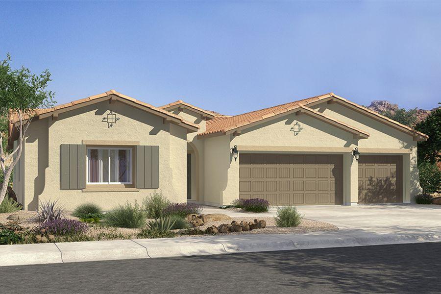 Single Family for Sale at Mountain Falls - Plan 1 - Tivoli 5413 East Volterra Pahrump, Nevada 89061 United States