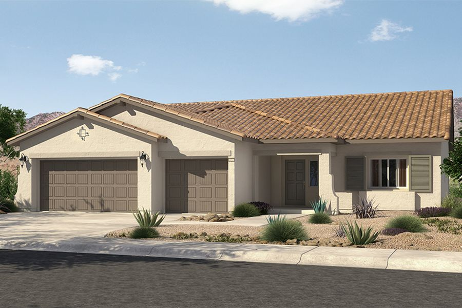 Single Family for Sale at Mountain Falls - Plan 2 - Series Ii 5413 East Volterra Pahrump, Nevada 89061 United States