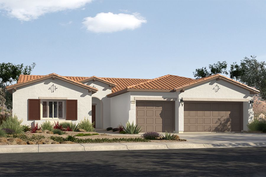 Single Family for Sale at Mountain Falls - Plan 3 - Series Ii 5413 East Volterra Pahrump, Nevada 89061 United States
