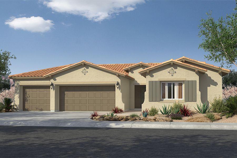 Single Family for Sale at Mountain Falls - Plan 4 - Tivoli 5413 East Volterra Pahrump, Nevada 89061 United States