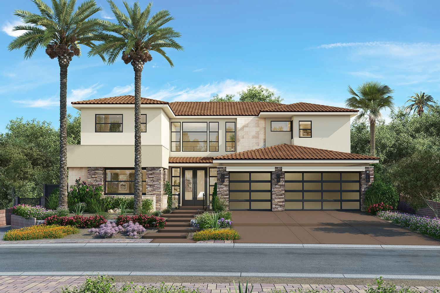 Single Family for Sale at Lago Vista - Plan 2 58 Bella Lago Ave. Henderson, Nevada 89011 United States