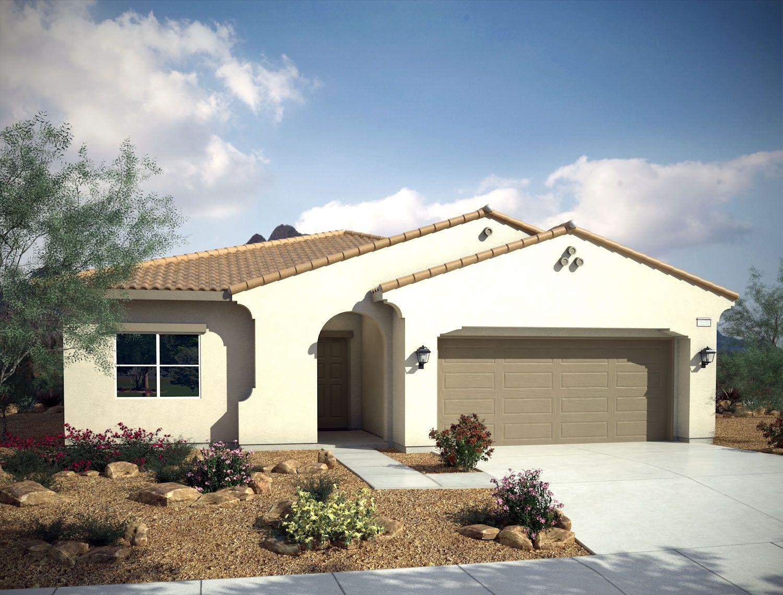 Single Family for Sale at Mountain Falls - Plan 5 - Tivoli 5413 East Volterra Pahrump, Nevada 89061 United States