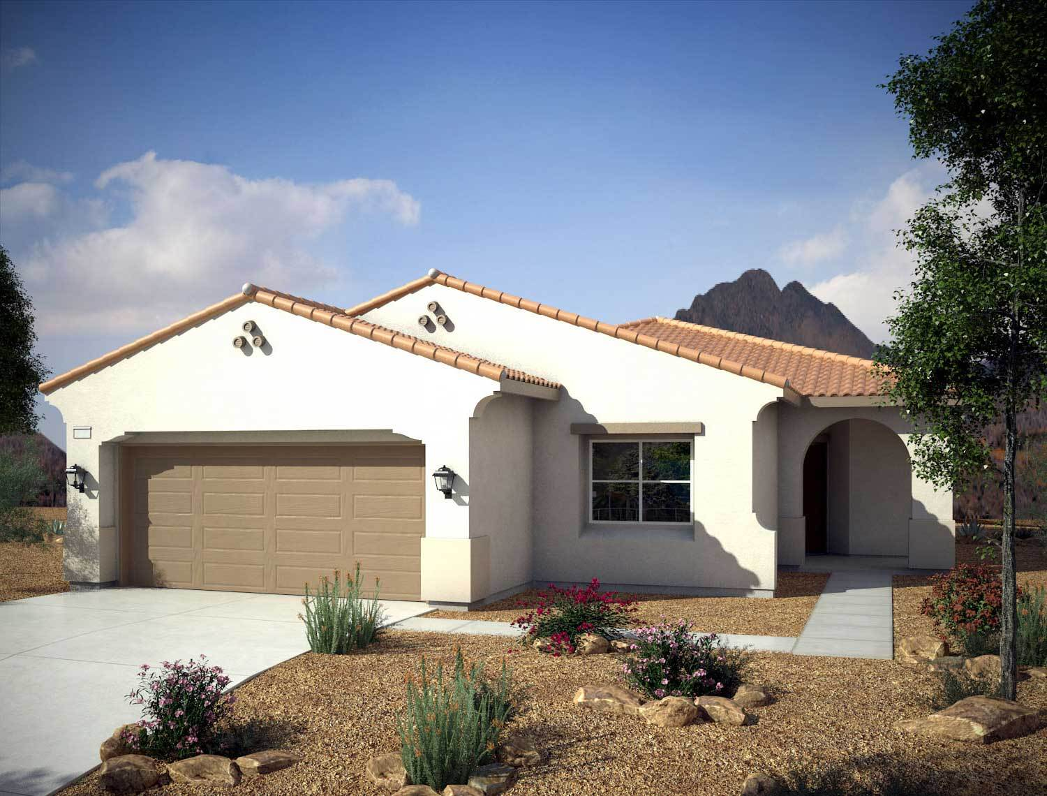 Single Family for Sale at Mountain Falls - Plan 2 - Series I - Tramonto 5413 East Volterra Pahrump, Nevada 89061 United States