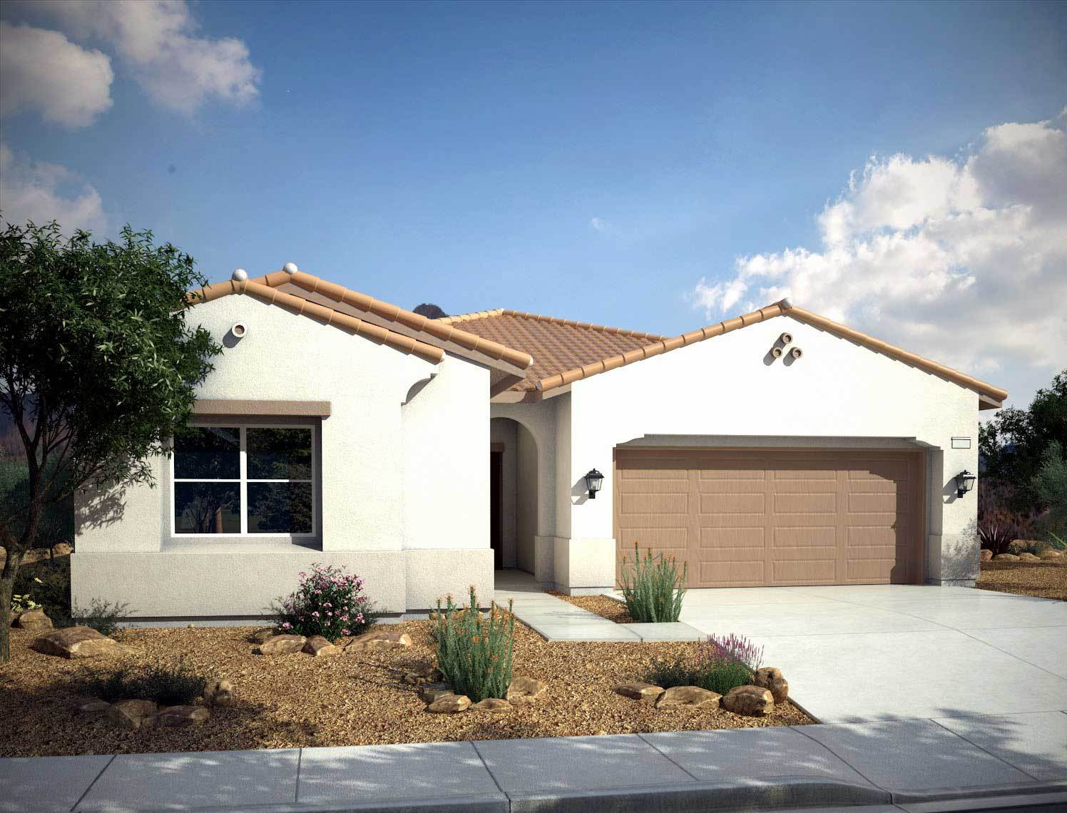 Single Family for Sale at Mountain Falls - Plan 3 - Series I - Villa Serena 5413 East Volterra Pahrump, Nevada 89061 United States