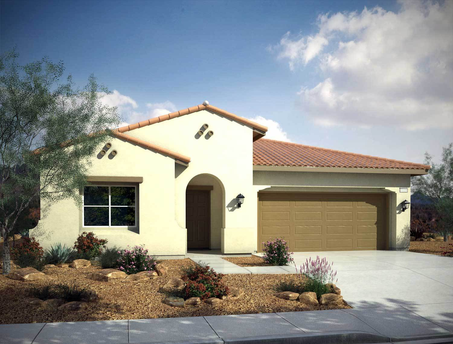 Single Family for Sale at Mountain Falls - Plan 4 - Series I - Tramonto 5413 East Volterra Pahrump, Nevada 89061 United States