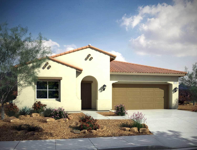 Single Family for Sale at Mountain Falls - Plan 7 - Tivoli 5413 East Volterra Pahrump, Nevada 89061 United States