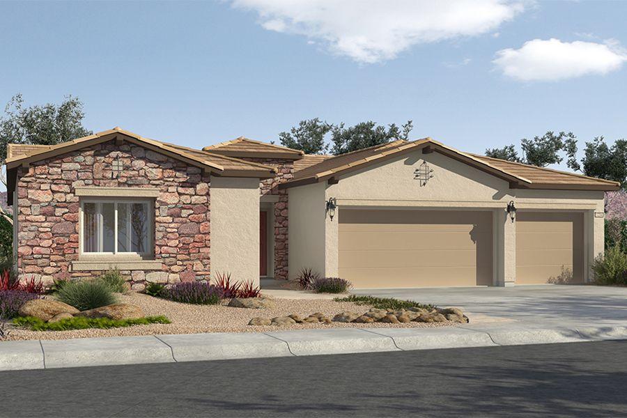 Single Family for Sale at Tivoli At Mountain Falls - Plan 1 5413 East Volterra Pahrump, Nevada 89061 United States