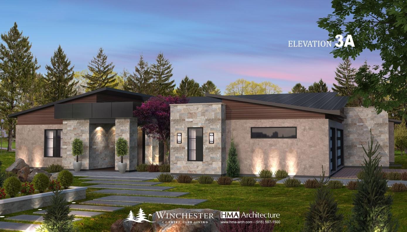 Single Family for Active at Winchester Country Club - Plan 3 3030 Legends Drive Meadow Vista, California 95722 United States